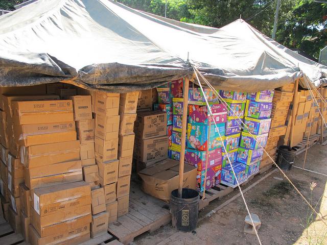 Haiti hygeine supplies