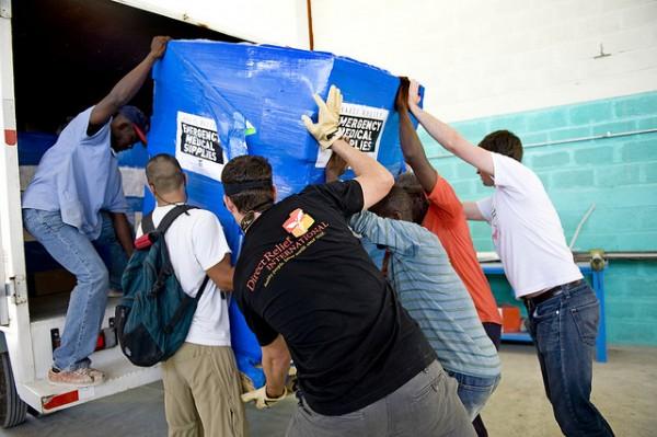Haiti load pallet