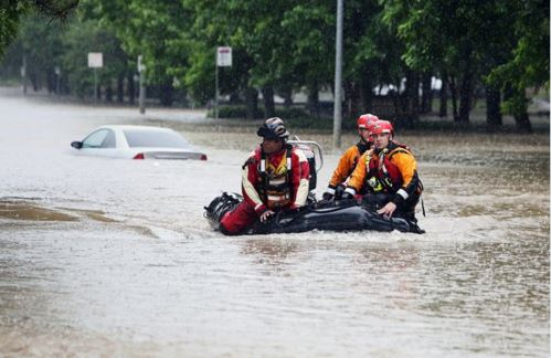 Houston Floods - Chronicle AP