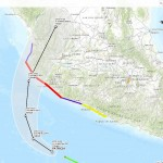 Hurricane Patricia Map