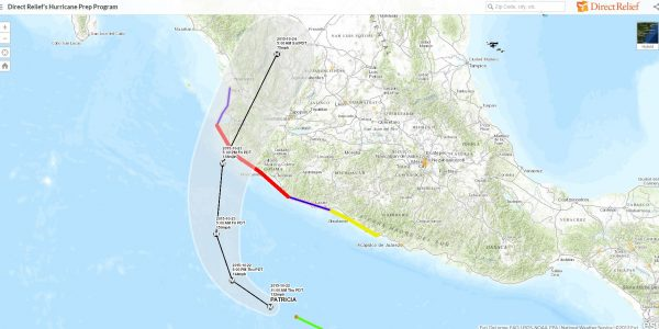 Emergency Update: Hurricane Patricia, Mexico, 10/22