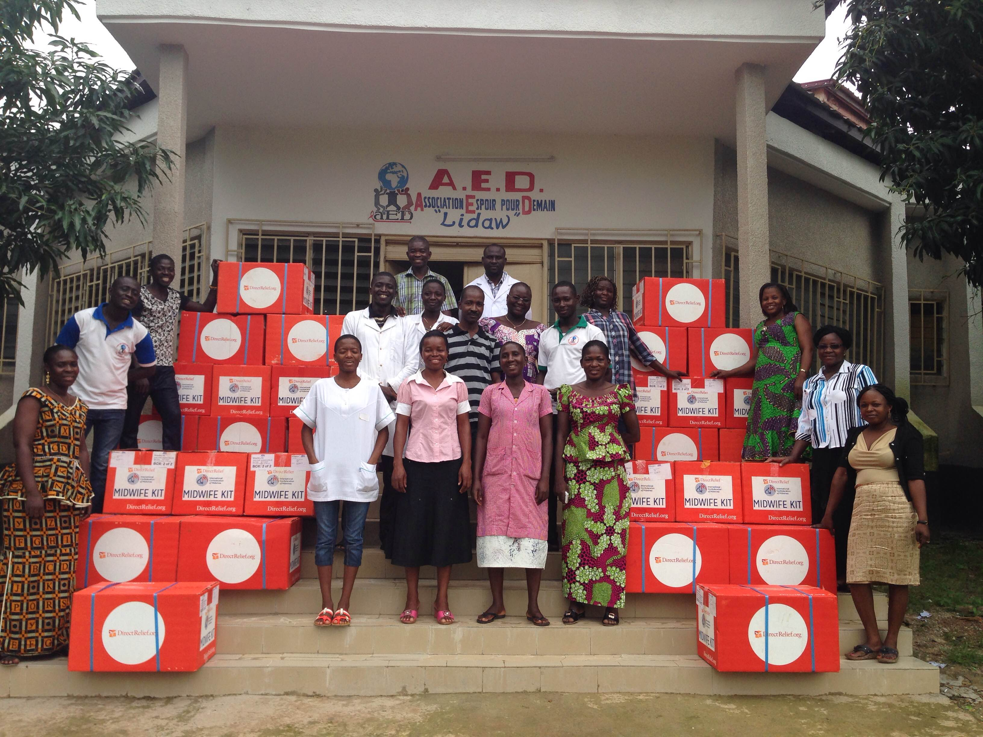 Direct Relief Midwife Kits - Hope Through Health