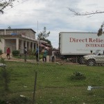 Additional supplies from Direct Relief's hurricane modules arrive at Saint Therese hospital in Miragoane.