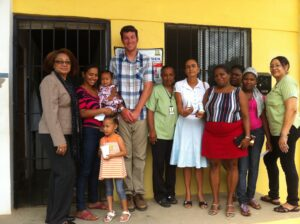 With patients and staff at Batey Relief Alliance