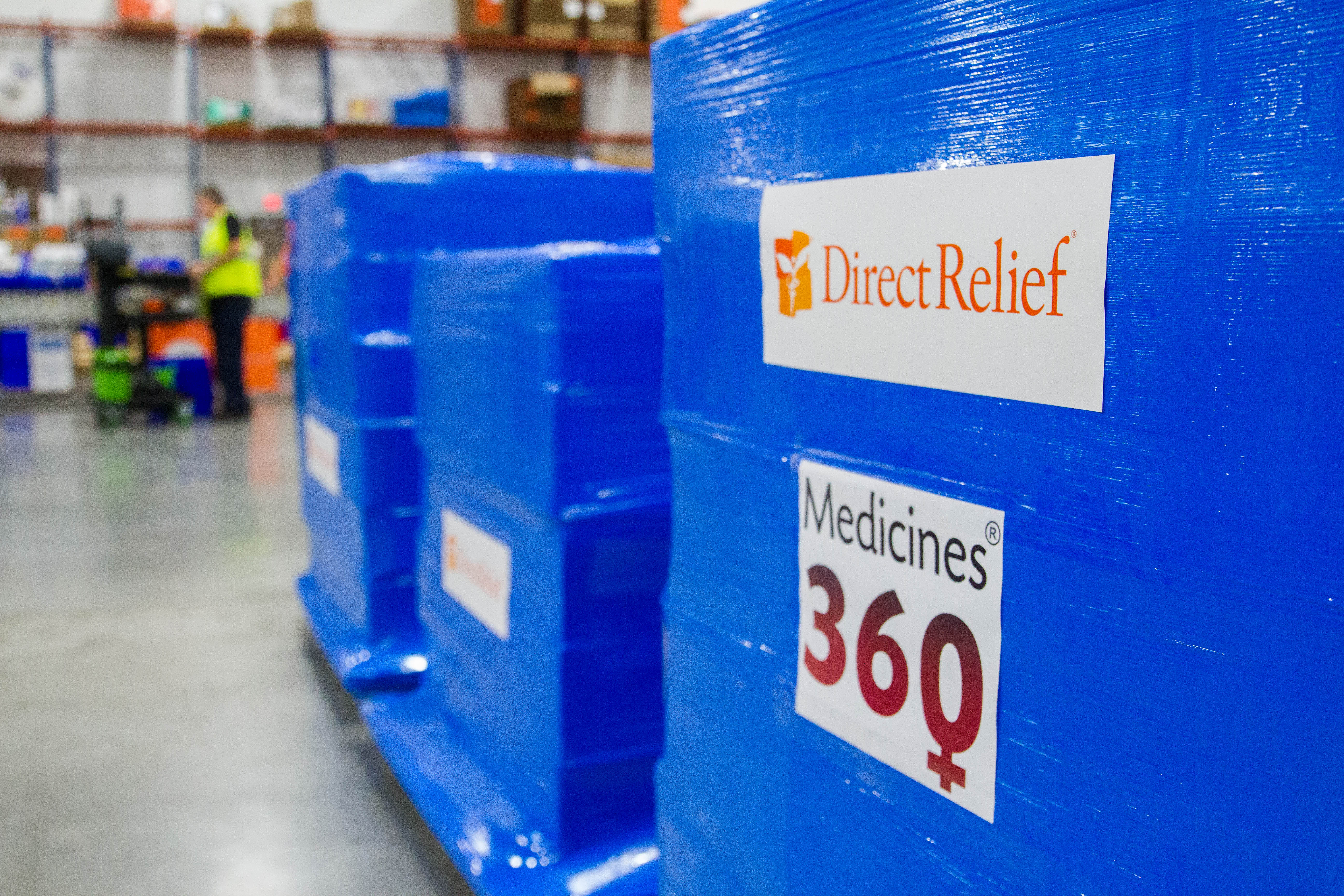 Direct Relief and Medicines 360 are partnering to distribute IUDs to participating clinics across the U.S., providing women with no-cost birth control. (Lara Cooper/Direct Relief)