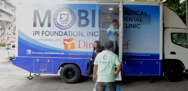 IPI Mobile Medical Van - screen shot