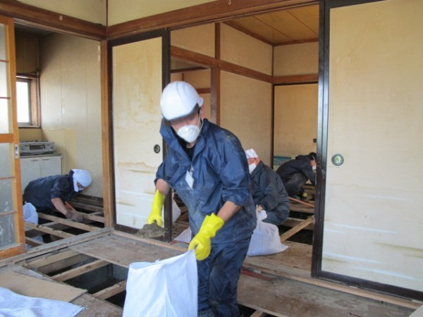 IVY Cash For Work program individuals clearing houses in Japan