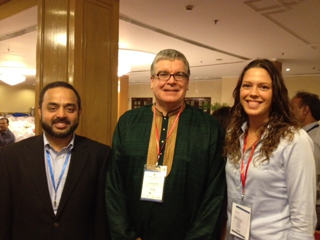 From left to right, Dr. Iftikher Mahmood, Dr. Steve Arrowsmith, and me.