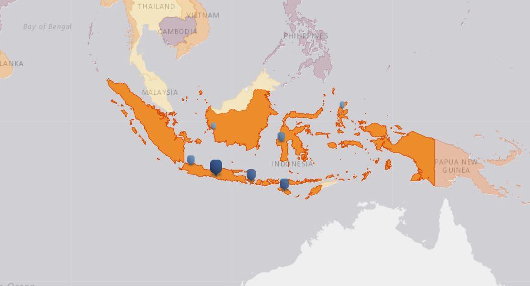 emergency alert powerful earthquake tsunami strike indonesia