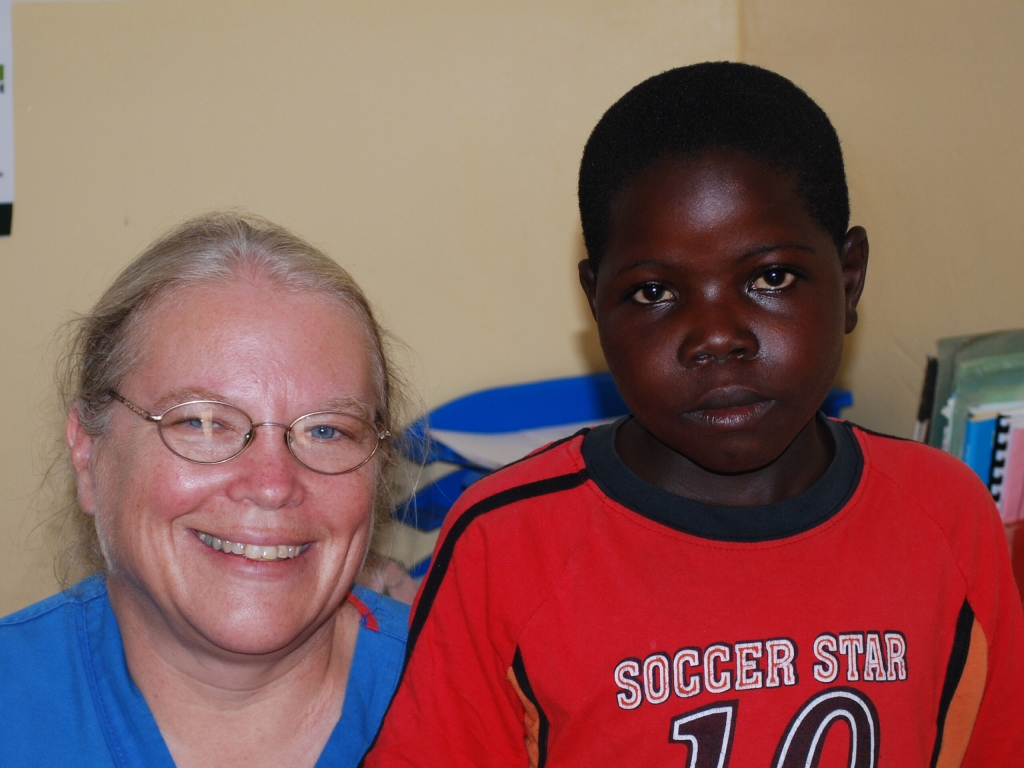 Jacinta , cancer-free, one year after beginning treatment.