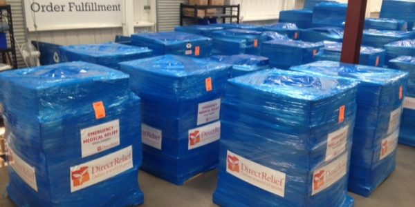 Ebola Relief: Emergency Medical Supplies Bound for Guinea