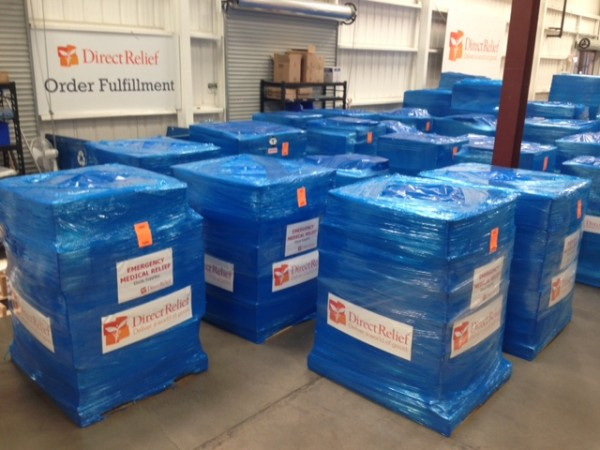 Direct Relief Ebola Shipment