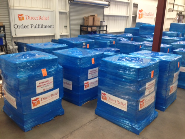 Direct Relief Ebola Shipment
