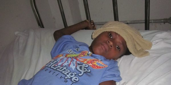 Pre-positioned Medicines Give Haitian Girl A Chance at Life