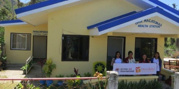 Reconstructing Typhoon-Damaged Health Stations in the Philippines