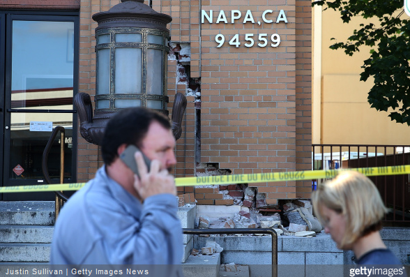 Napa quake getty