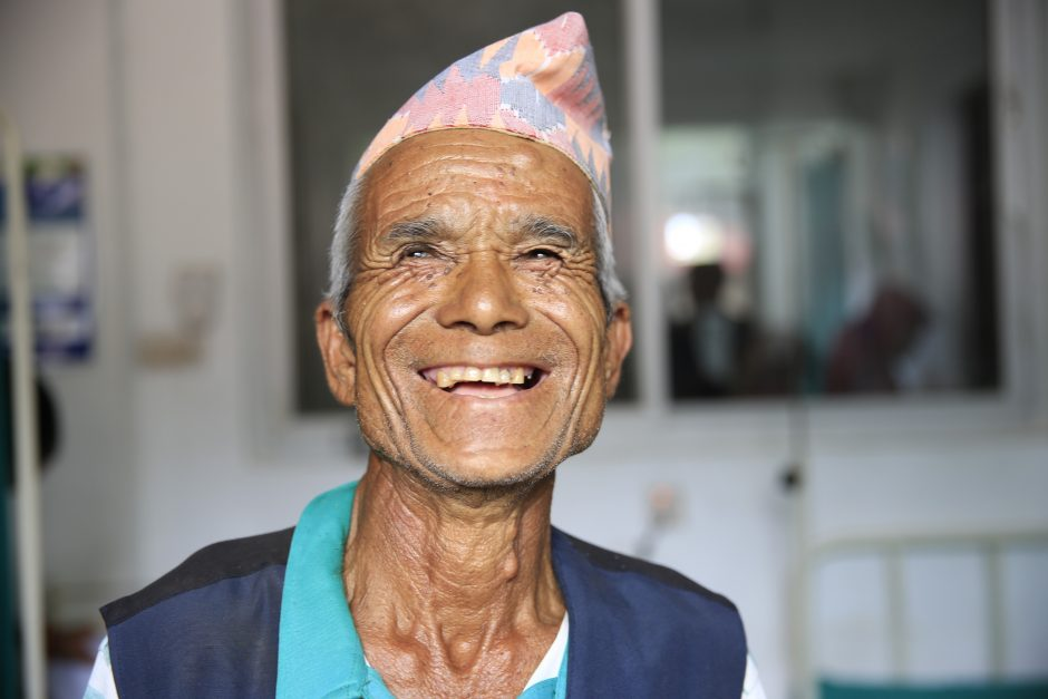 "On August 2, 2016, a Nepali man visited a medical mission being held in a small village near the border of Tibet. His entire family died in the Gorkha earthquake in April, 2015, yet he was smiling when he arrived at the mission. When the doctors asked him why he was so happy, he responded that it was ""God's destiny"" for him to be happy."