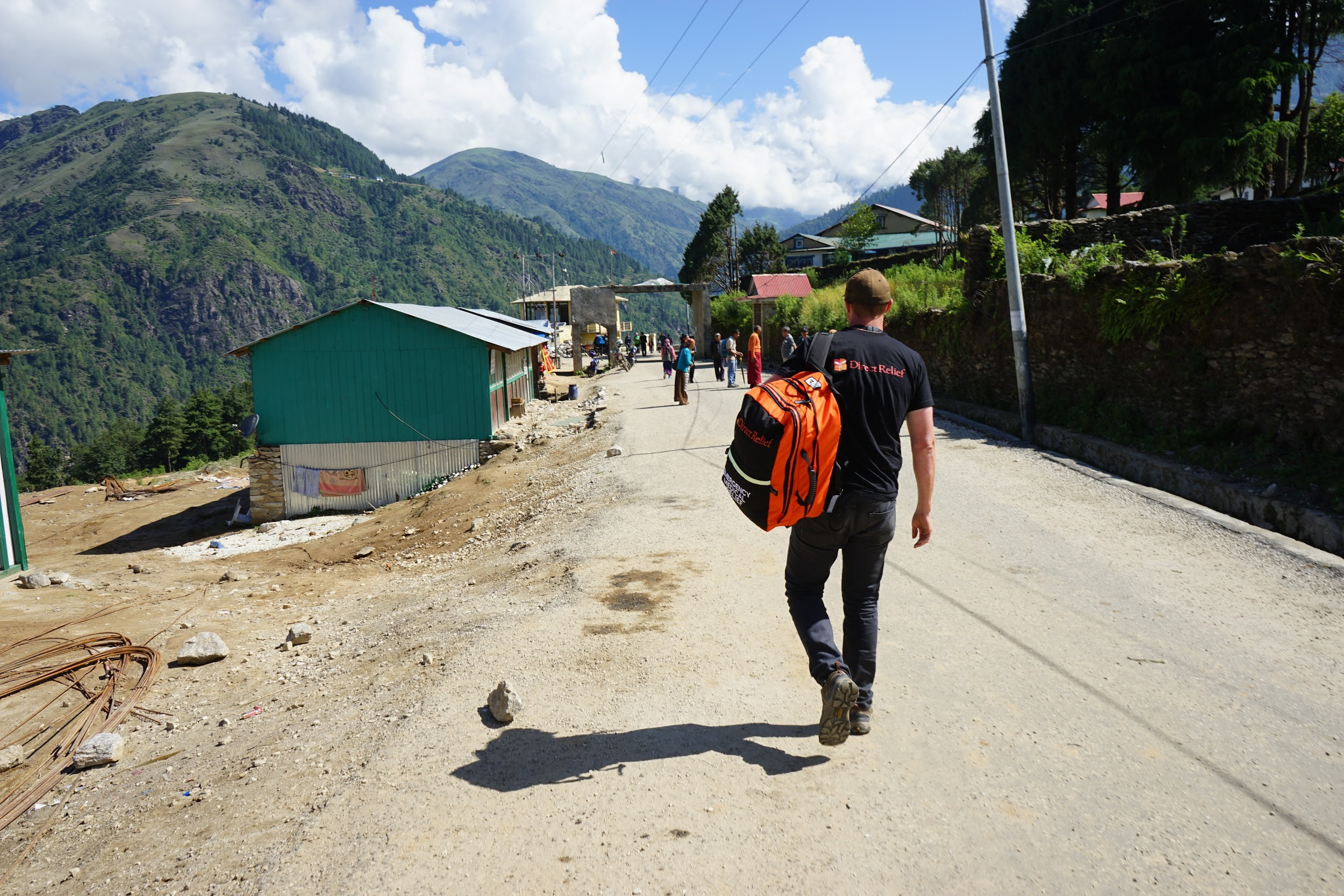 Nepal Aid Delivery Direct Relief