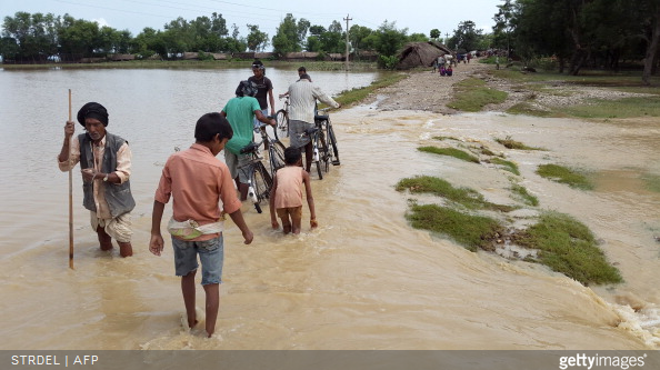 Nepal flood getty image aug 2014
