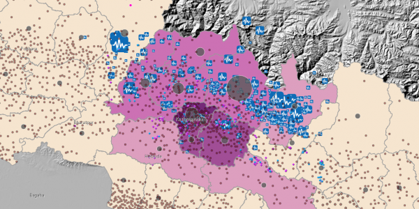 Open Data: Nepal Earthquake 2015