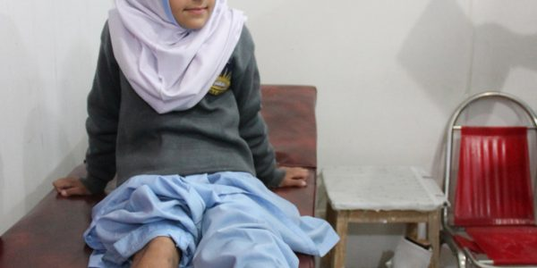 Bright Future Ahead for Young Girl in Pakistan with Prosthetic Limb