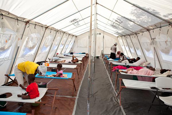 © Global Eyes Media April 19th - cholera tent