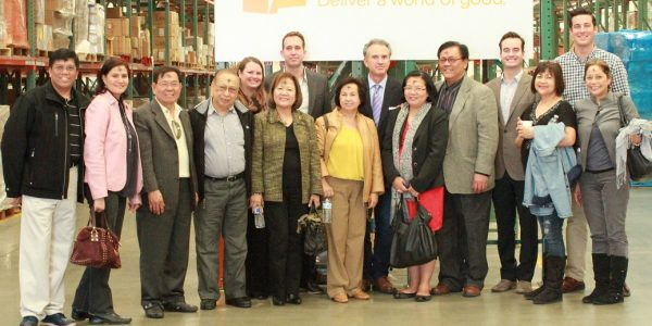 Philippine Consul General Visits Headquarters