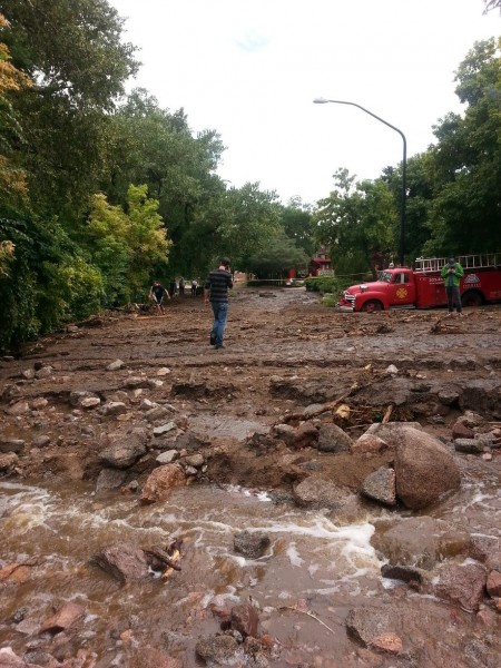 Thousands of people were displaced by the recent floods in Colorado. Public domain photo.