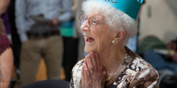 A Lifetime of Giving Back: Celebrating Edythe Kirchmaier at 107