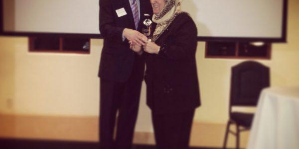 Sakena Yacoobi Earns Champion for Women's Health Award