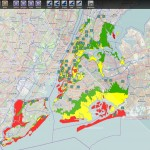 After Hurricane Sandy, Direct Relief was able to view evacuation zones in relation to our clinic partners to understand areas of highest need.