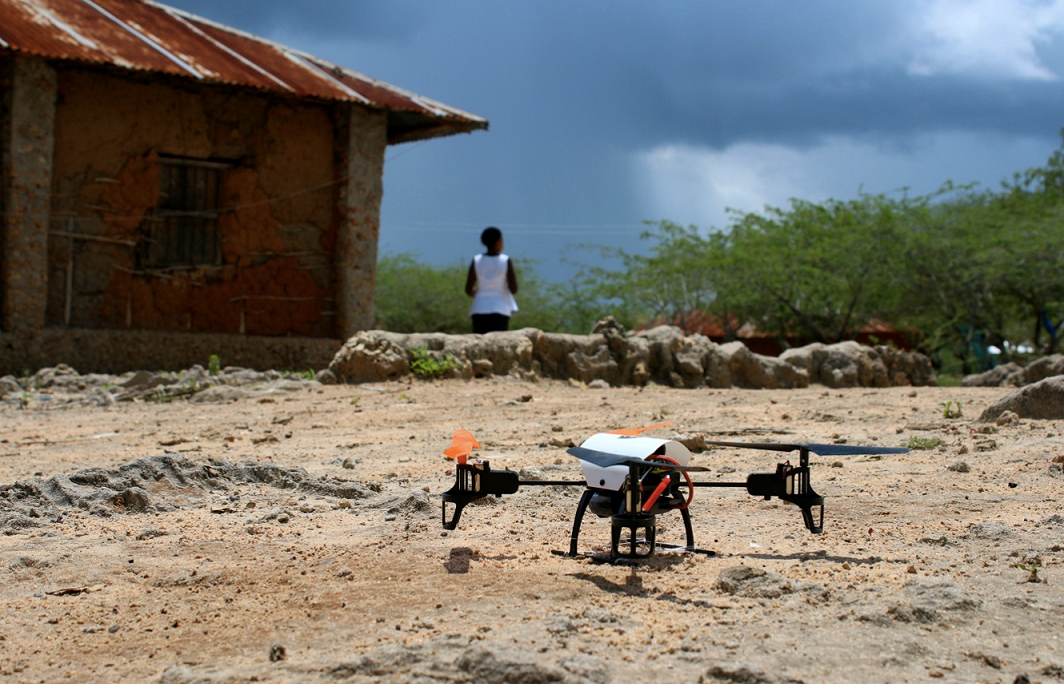 Sentinel Project Drones in Kenya PAINt