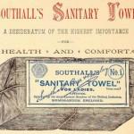Southalls Sanitary Towels - Print Ad
