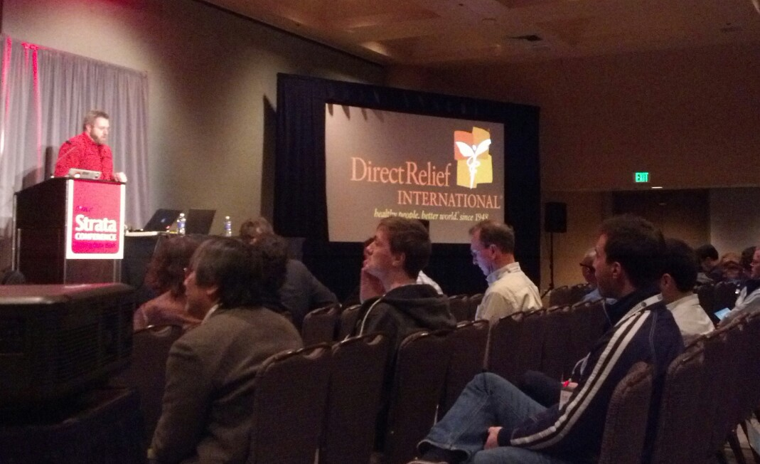 Direct Relief's work with Palantir Technologies after Hurricane Sandy was highlighted at the conference.