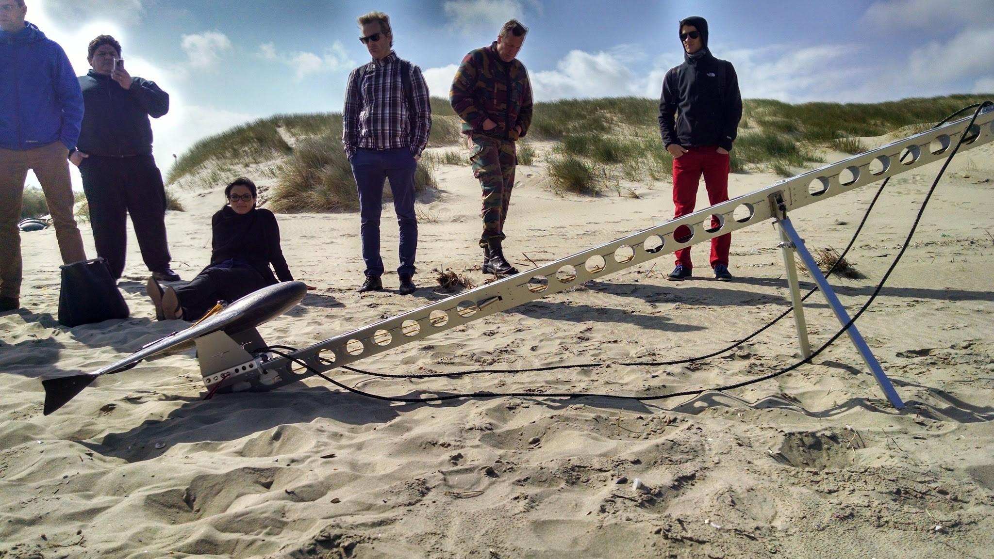 Trimble Drone Launch. First Global Humanitarian UAV Training