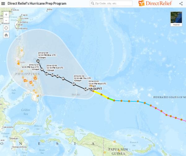 Typhoon Hagupit 2 - 12 3 14