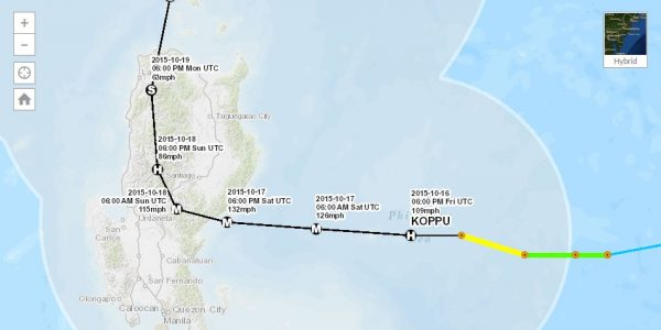 Emergency Update: Typhoon Lando, 10/16