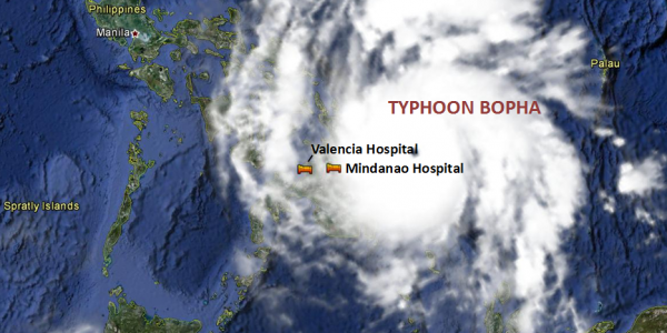 Monitoring Partners in the Philippines as Typhoon Bopha Makes Landfall