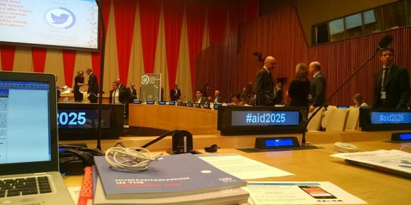 Reflections on the 2014 UN Global Humanitarian Policy Forum