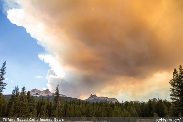 Yosemite wildfires sep 15 Getty