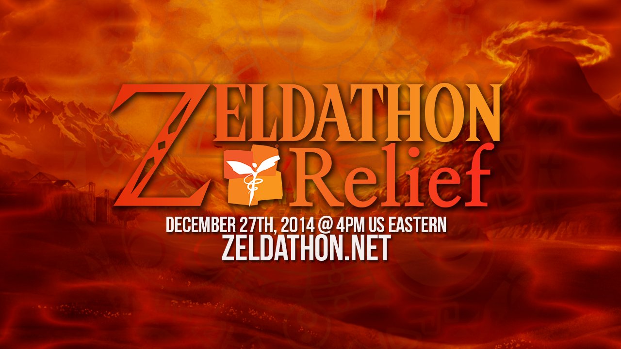 Zeldathon Relief banner