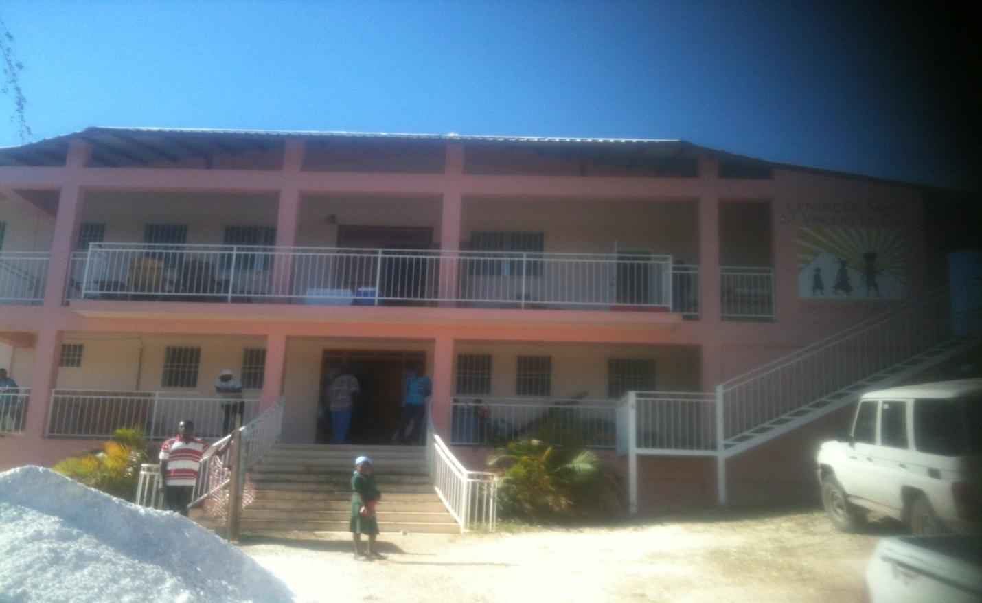 Outside view of Clinique St. Vincent de Paul