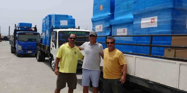 Medicines Arrive to Help People on Honduran Island of Roatan