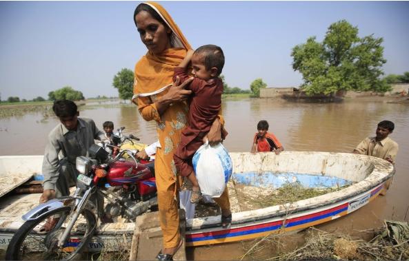 pakistan india flood