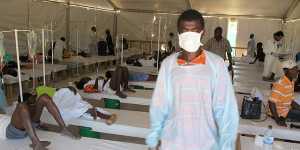 Responding to Spike in Haiti Cholera Cases