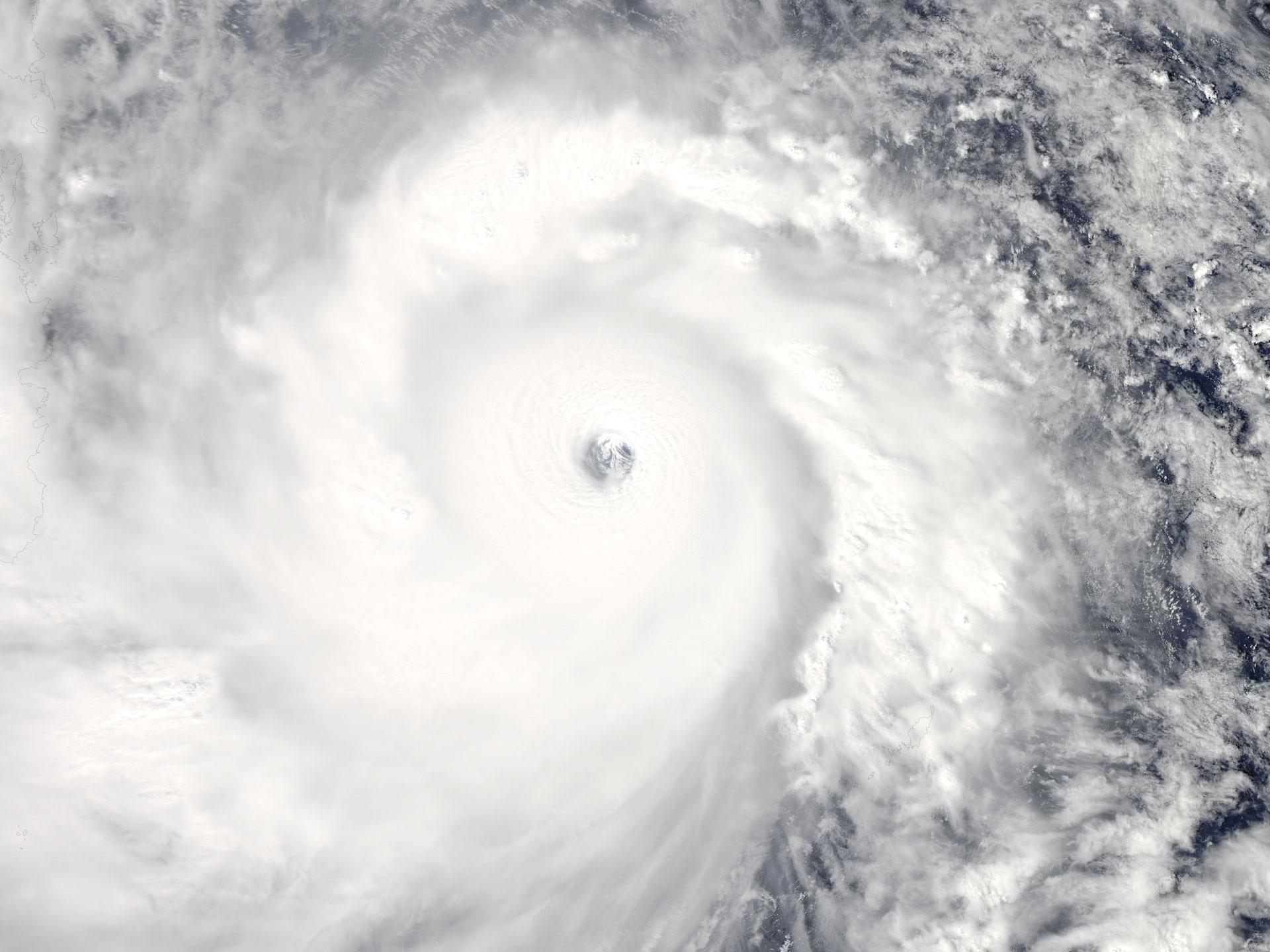 Super Typhoon Haiyan, one of the largest storms every recorded, made landfall in the Philippines on November 8th with record winds topping 200 miles an hour and a storm surge reaching 20ft, causing wide-spread damage and killing over 5,000 people.
