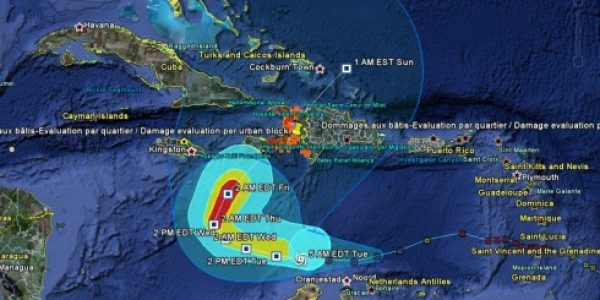 Direct Relief Readying Partners in Hurricane Tomas' Path