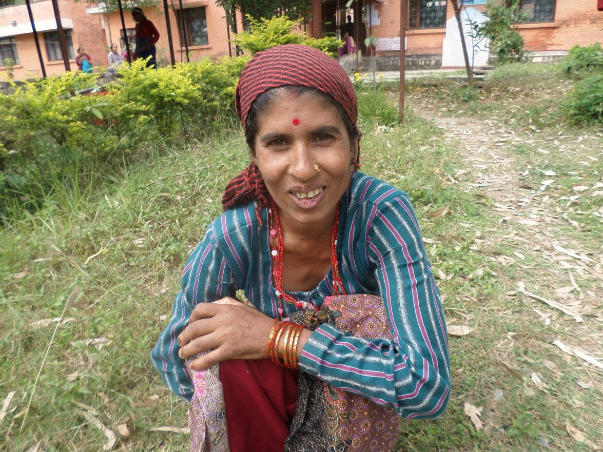 Laxmi after fistula repair. Photo courtesy of International Nepal Fellowship.