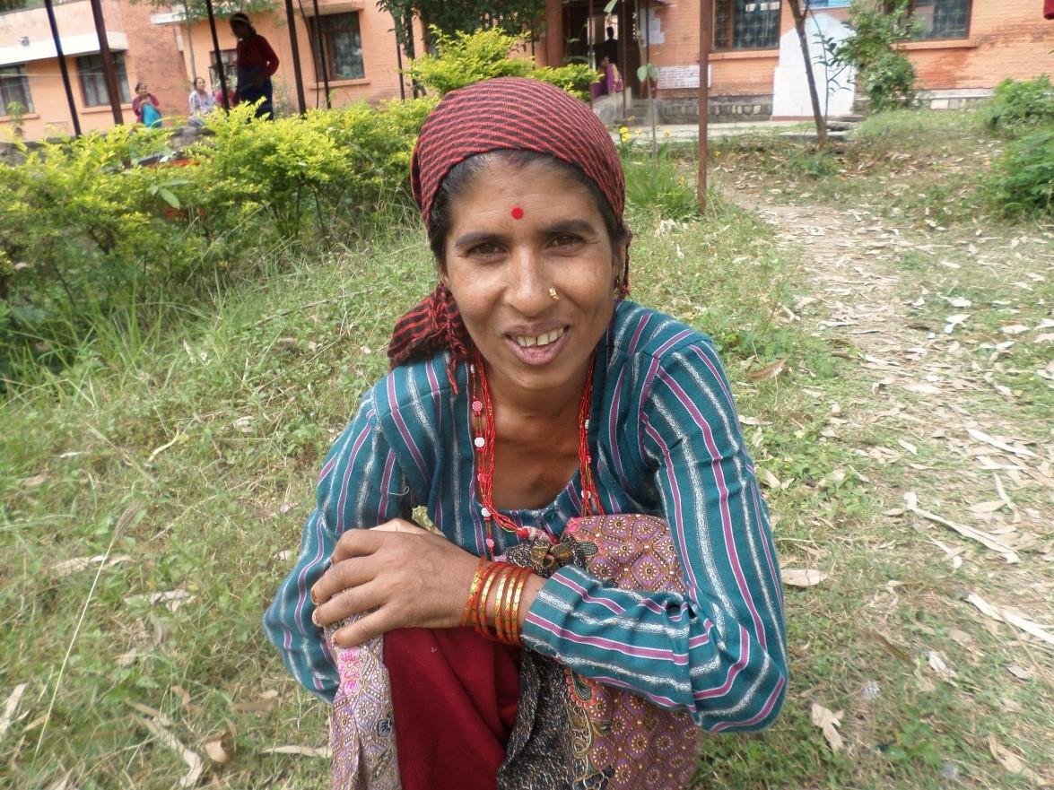 Laxmi after fistula repair. Photo courtesy of International Nepal Fellowship.
