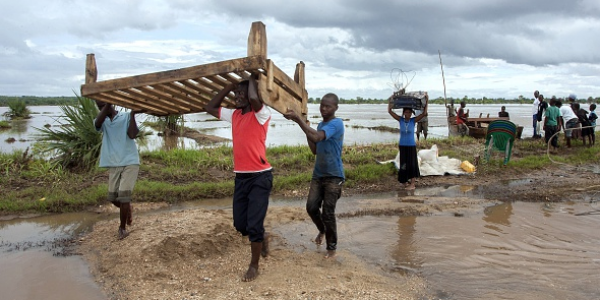Readying Emergency Supplies for Flood-Affected Malawi